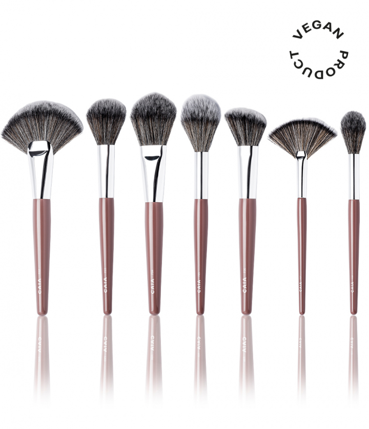 ULTIMATE BRUSH KIT - FACE in the group BRUSHES / MAKEUP BRUSHES at CAIA Cosmetics (CAI161)